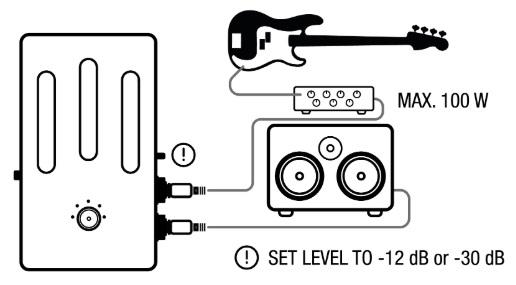 Darkglass Electronics Element Cab Sim /& Headphone Amp