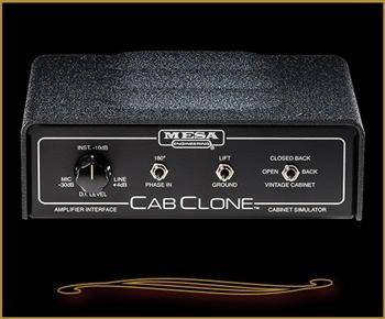 mesa boogie cabclone cabinet simulator and load box 4 ohm. Black Bedroom Furniture Sets. Home Design Ideas